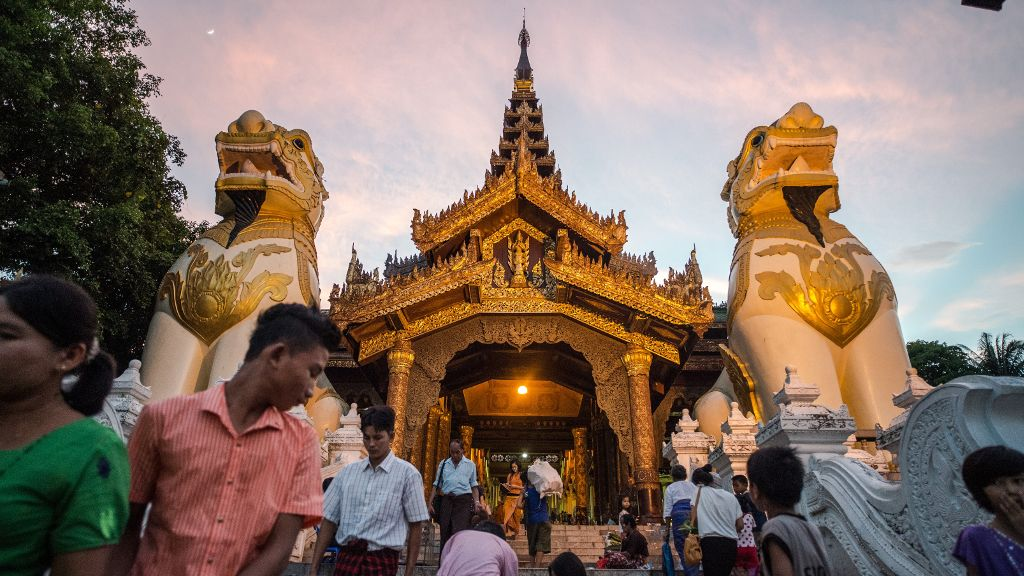 Myanmar's growth should accelerate over the next couple of years on the back of firming recovery in the major industrial economies and the government's continued reforms.