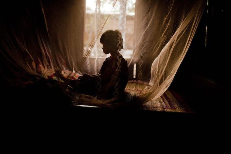 Mosquito nets protect children against malaria in Viet Nam. Photo: Justin Mott/ADB.